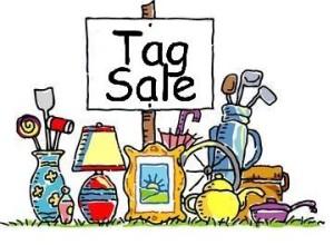Graphic, Tag Sale