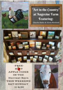 Art in the Country/Free Hot Apple Cider