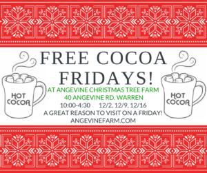 Free Cocoa Friday's