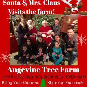 Santa and Mrs. Claus Visit