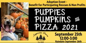 Puppies Pumpkins & Pizza 2021
